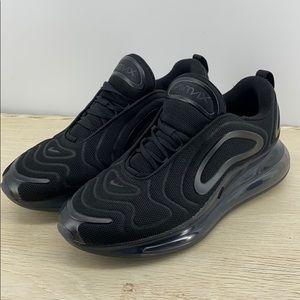Nike Air Max 720 Triple Black Men's 11